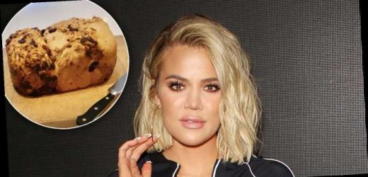 Khloe Kardashian Is Baking Her Own Bread and It Looks Delicious
