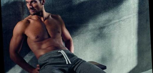 David Gandy is set to be crowned the richest male model in the world