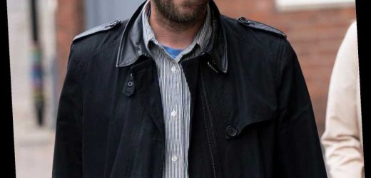 Kasabian frontman Tom Meighan, 39, arrives at court accused of 'attacking girlfriend'
