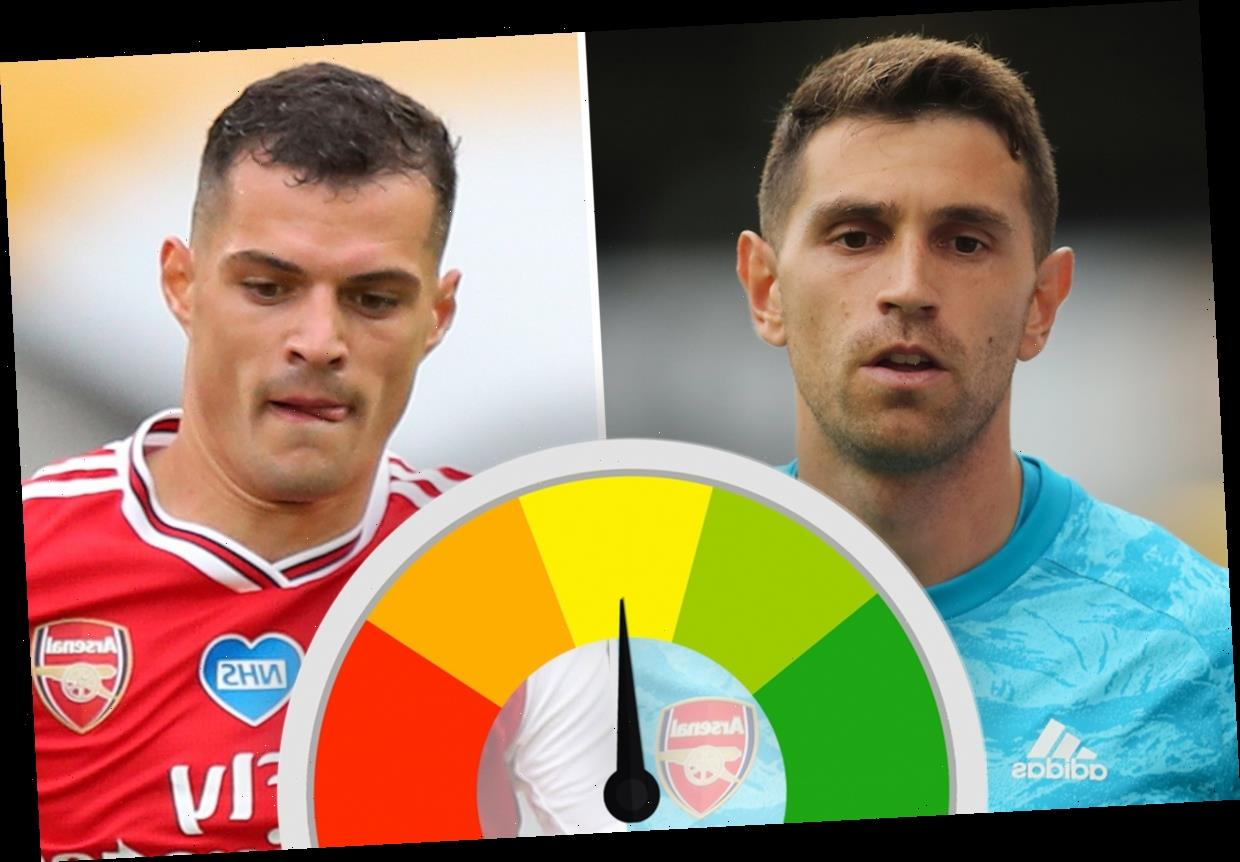 Arsenal player ratings: Martinez excels between the sticks and Mustafi solid throughout as Xhaka struggles early on