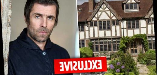 Inside Liam Gallagher's £3.75m very un-rock 'n roll new home with bookcases, study and summerhouse