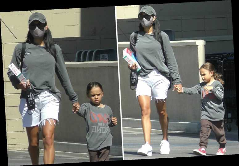 Naya Rivera looked like a doting mom as she took son by the hand in final photos snapped just five days before tragedy – The Sun