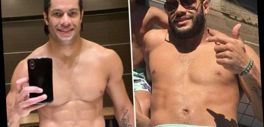 Brazil cult hero Hulk shows off incredible transformation out of lockdown and is unrecognisable with new look