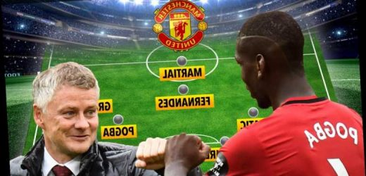 How Man Utd will line-up against Southampton as Solskjaer hints at naming ANOTHER unchanged side including Paul Pogba