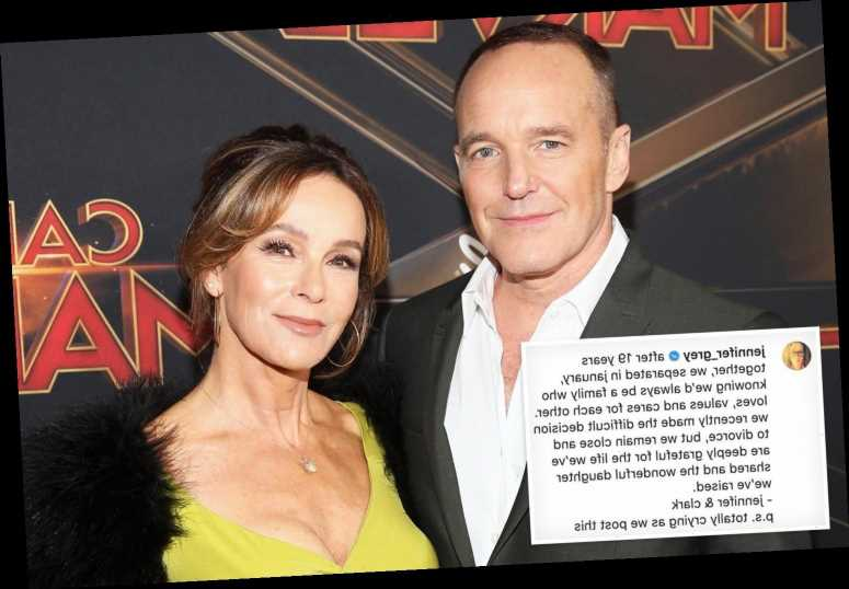 Dirty Dancing star Jennifer Grey and Agents of SHIELD's Clark Gregg split after 19 years together – The Sun