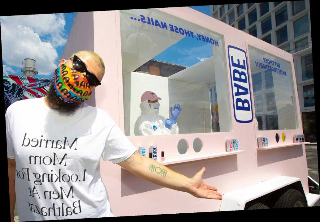 'Like a glory hole for your hands': 'Fat Jew' launches mobile manicure truck
