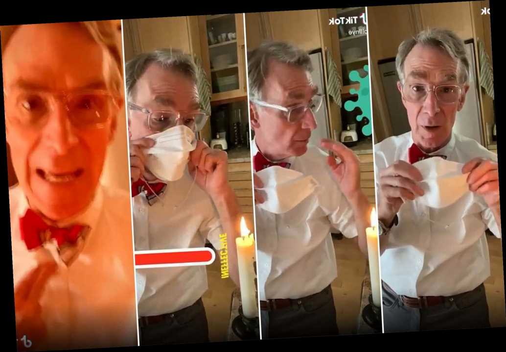 Bill Nye 'the Science Guy' urges public to wear face masks