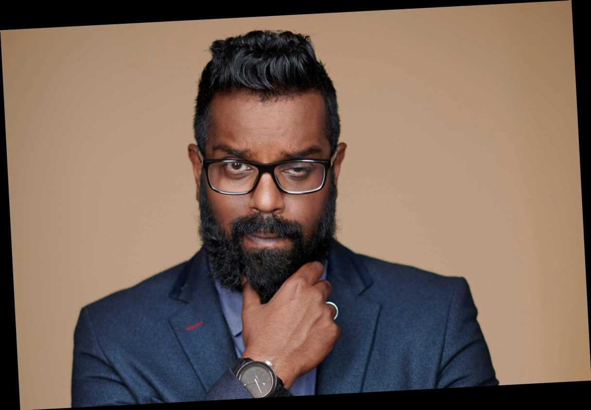 Romesh Ranganathan breaks wrist in bike tumble filming A League Of Their Own