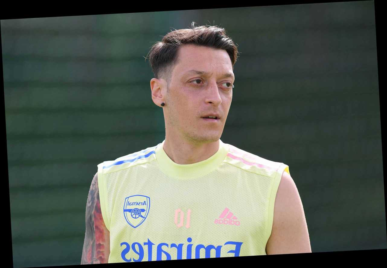 Mesut Ozil OUT of Arsenal's FA Cup final clash with Chelsea after spending time in Turkey