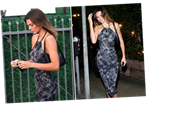 Kendall Jenner steps out in figure-hugging dress for dinner date with pal Fai Khadra amidst family drama