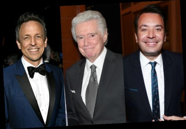 Jimmy Fallon, Seth Meyers Honor 'Absolute Legend' Regis Philbin and His 'Contagious Enthusiasm' (Videos)