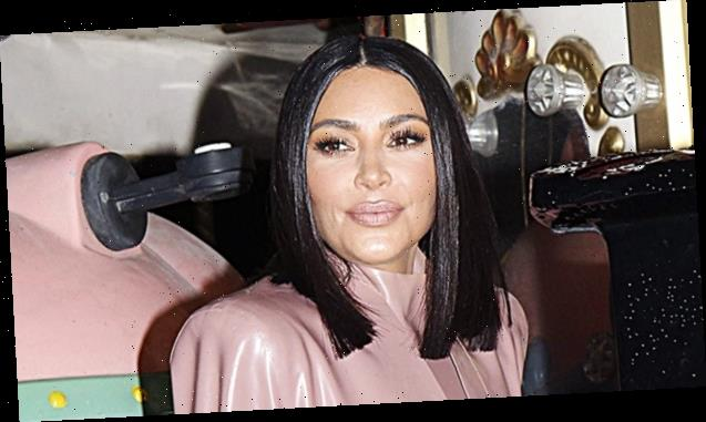 Kim Kardashian Shares Trick For Getting Bigger Lips Without Surgery On Instagram
