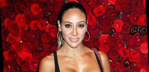 Melissa Gorga, 41, Stuns In Orange Crop Top & Short Shorts While Out With 'RHONJ' Cast