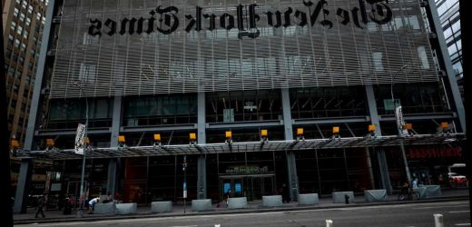 The New York Times' metro section mysteriously disappeared