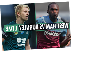 West Ham vs Burnley: Live stream FREE, TV channel, kick-off time and team news for Premier League clash
