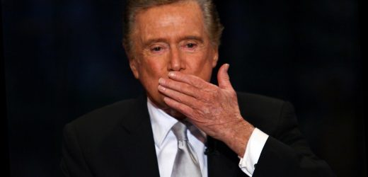 Regis Philbin's cause of death revealed