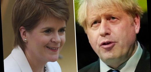 Boris Johnson sparks dust up with Nicola Sturgeon with plans to retrieve 160 powers from Brussels