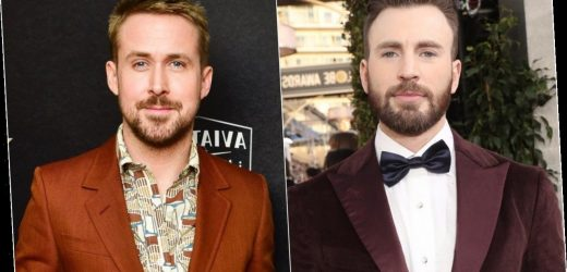 Chris Evans and Ryan Gosling to Star in $200 Million Netflix Film