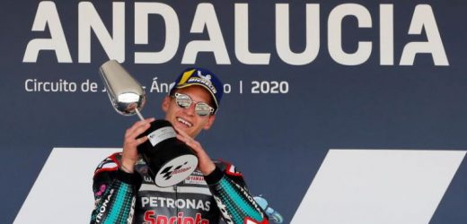 Motorcycling: Quartararo clinches Andalusian Grand Prix for second straight win as Yamahas dominate in Jerez