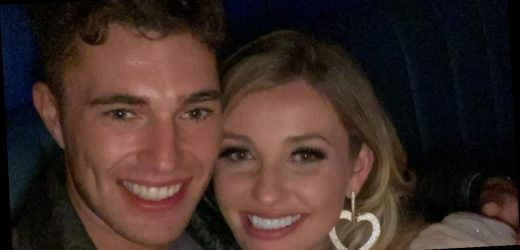 Curtis Pritchard poses for cosy snap with ex Amy Hart after Maura split