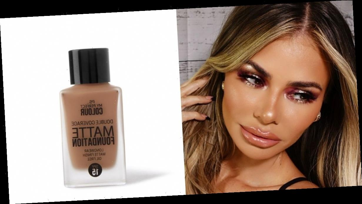 Chloe Sims creates glam make-up look using 'very impressive' £5 Primark foundation