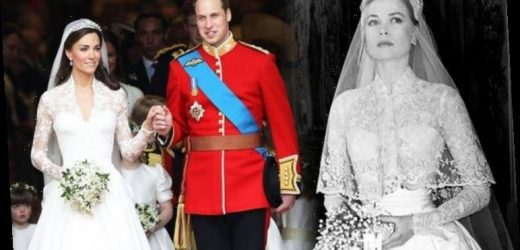 Grace Kelly: Princess of Monaco's wedding dress inspired Kate Middleton in key way