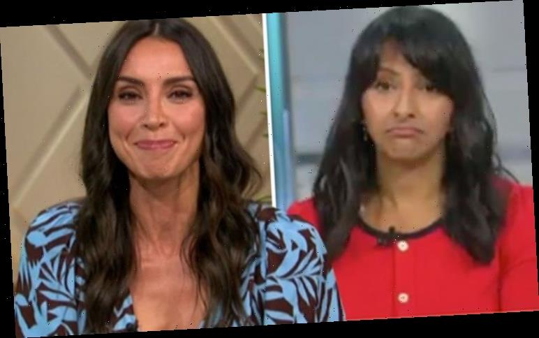 Christine Lampard speechless as co-star exposes backstage antics: 'We've heard about you!'