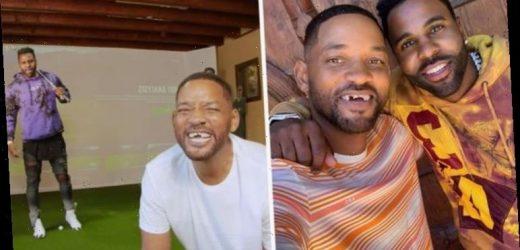 Will Smith fans in shock after watching him get teeth knocked in Jason Derulo video