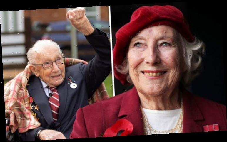 Vera Lynn: Captain Tom Moore in candid revelation as he admits 'I need to exceed her'