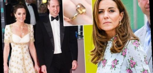 Kate Middleton has started wearing £8,000 'personal' ring not from royal collection