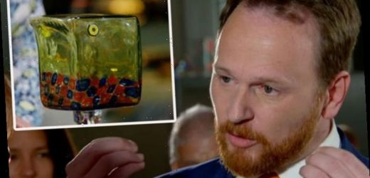 Antiques Roadshow expert discloses staggering value of 'horrid' glass bird in show first