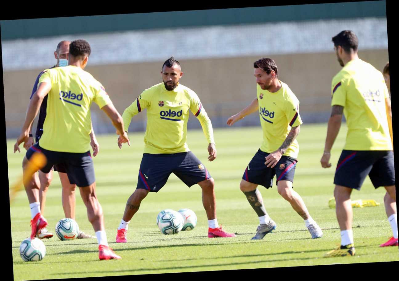 Barcelona announce positive coronavirus test at training ground just two days before Champions League clash vs Bayern