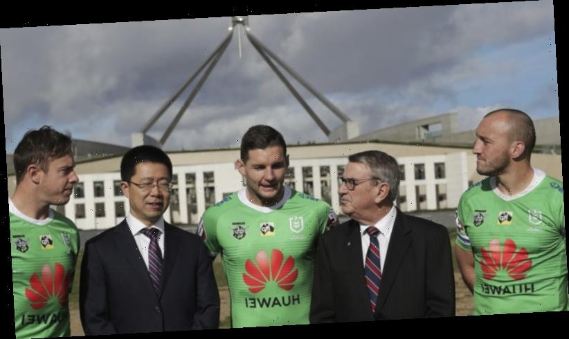 Huawei quits as Canberra Raiders' main sponsor