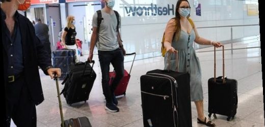 Testing arrivals in UK could cut quarantine time, think tank claims