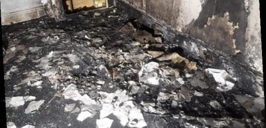 Man torches his flat when wedding proposal goes disastrously wrong