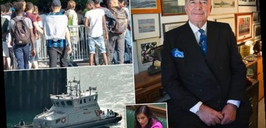 Ex-Navy chief Admiral Lord West backs call for ships to secure coast