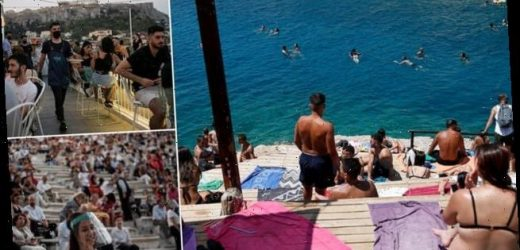 Curfew in top Greek island bars, eateries to limit virus