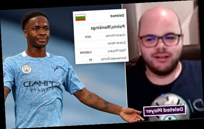 Winner of PL Fantasy Football 'sent racist messages about Sterling'