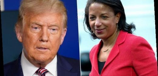 Susan Rice says Trump has given 'blessing' to Russian interference