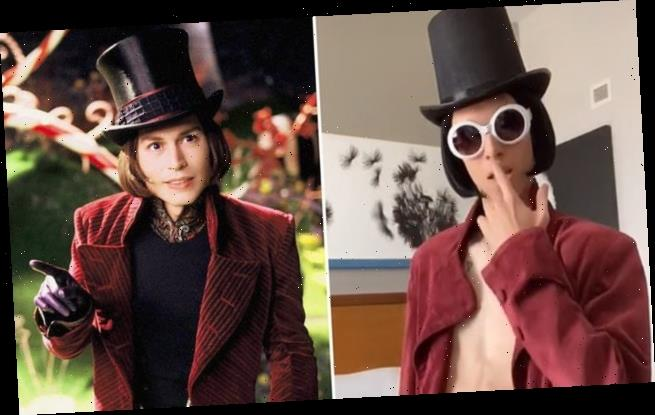 Sexy Willy Wonka earns viral fame on TikTok