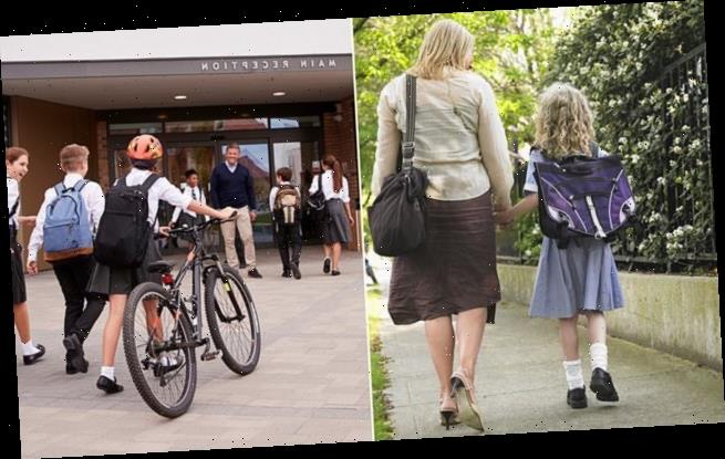 GRANT SHAPPS urges parents to make children walk or cycle to school