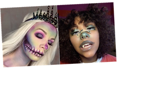 Need Halloween Makeup Ideas? These Looks From TikTok Will Give You All That and More