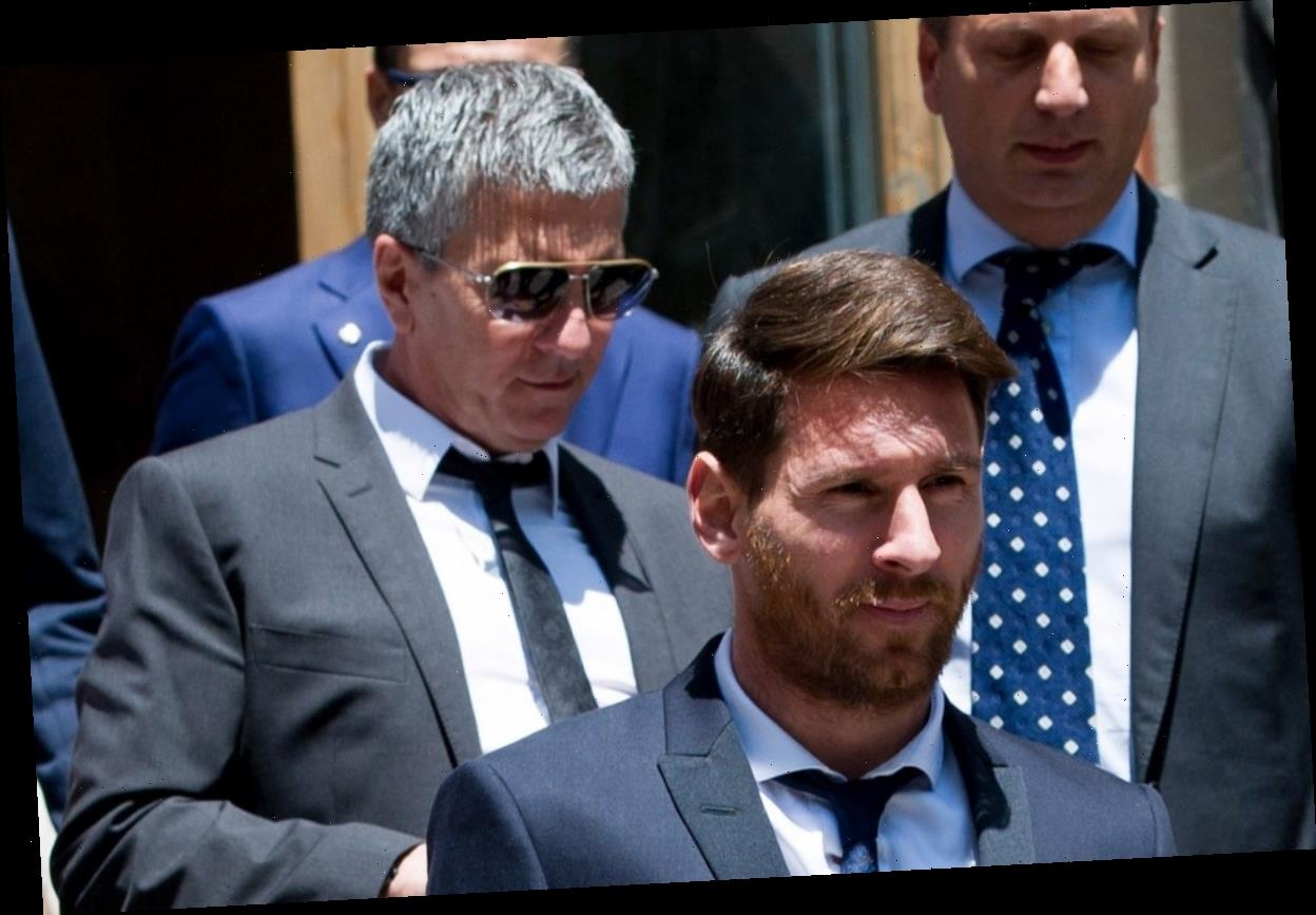 Lionel Messi's dad 'already in Manchester negotiating transfer' with City after telling Barcelona he wants out