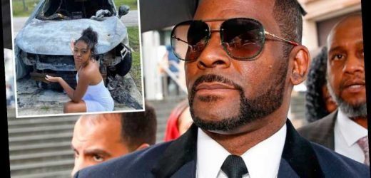 R Kelly's 'pals set fire to sex crime accuser's car and threatened to release explicit pics'