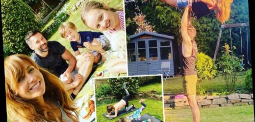 Inside Coronation Street star Samia Longchambon's incredible house with cosy kids playroom and massive garden with it's own yoga area