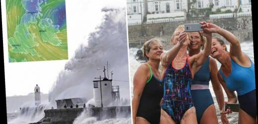 UK weather today – 60mph winds batter Britain again as killer Storm Ellen claims first victim