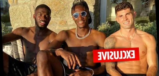 Chelsea stars Mount, Abraham, Pulisic and Tomori in quarantine after Mykonos holiday amid Covid-19 outbreak at club