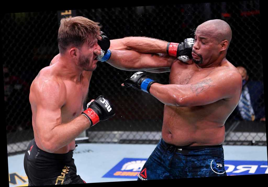 Stipe Miocic sends Daniel Cormier into retirement and cements his place as UFC's greatest ever heavyweight of all time
