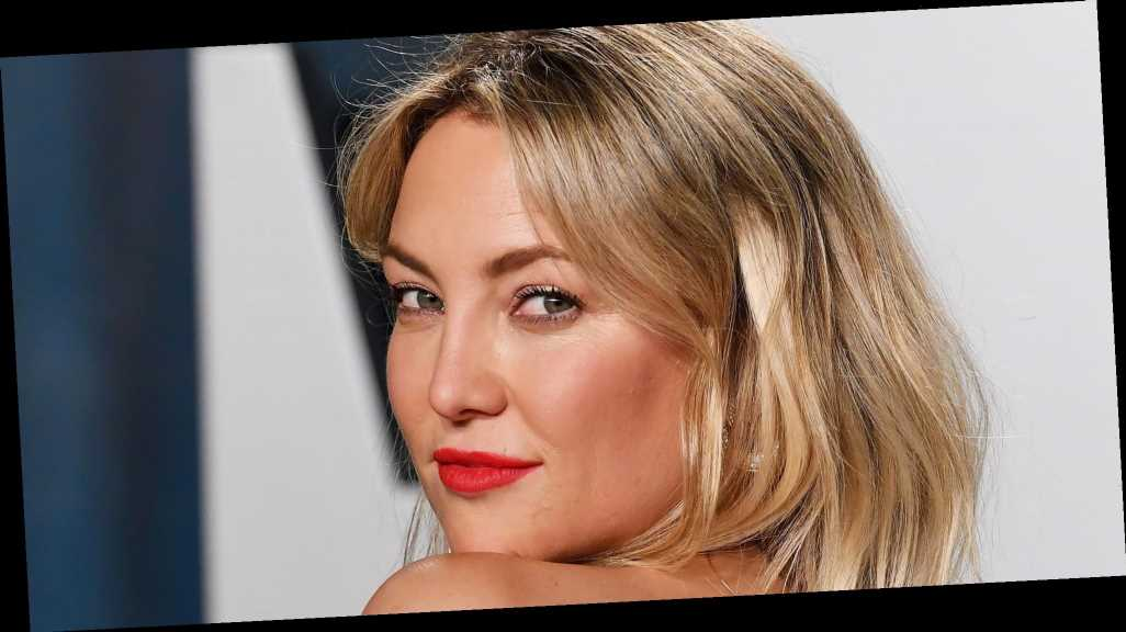 Kate Hudson's Hair Is 'Almost Brunette' After Quarantining