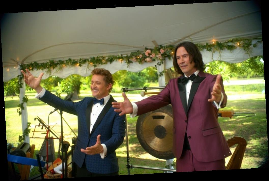 'Bill & Ted Face the Music': [SPOILER] Is Not the First Real Rock Star to Co-Star with Keanu Reeves and Alex Winter